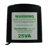Spa Electrics 25va LED Light Transformer