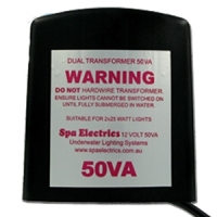 Spa Electrics 50va Twin LED Light Transformer