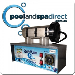 Crystal Clear EC3000 Salt Water Chlorinator